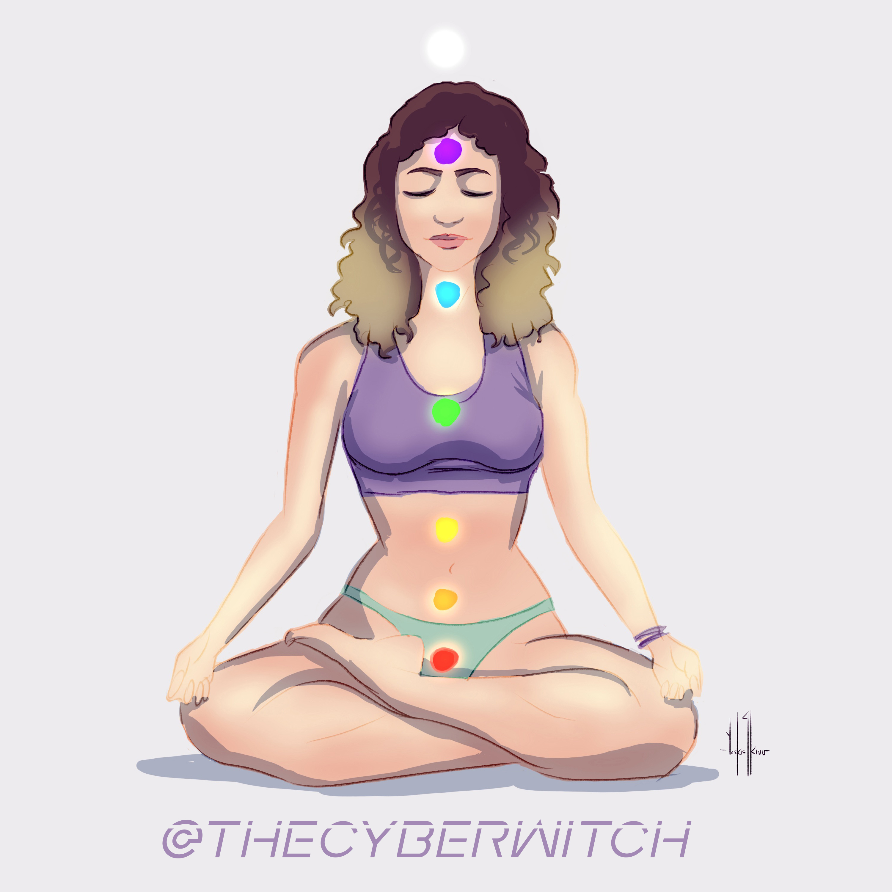 Meditation and Yoga by TheCyberWitch